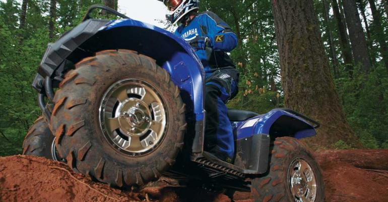 Yamaha Grizzly 450 Utility 4x4 ATV with electric power steering
