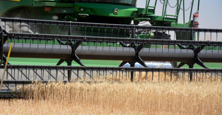wheat combine closeup2