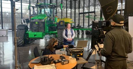 Deanna Kovar, vice president, production and precision ag production, John Deere, is presenting at CES, virtually