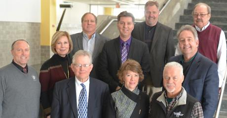 group shot World Dairy Expo Board of Directors Executive Committee