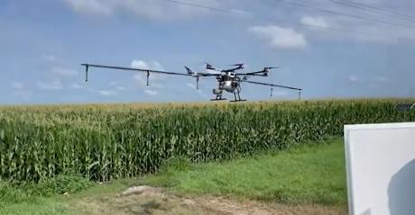 This Week in Agribusiness - Drone sprayer