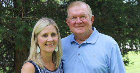 Kristy and Fred Walter