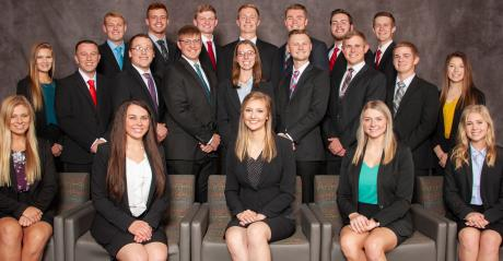 members of the 2019-2020 Nebraska Agricultural Youth Council