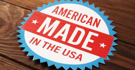 USA made label