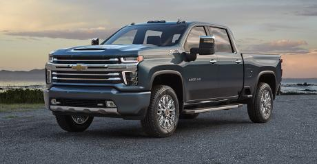 "new Silverado HD gets a bigger ""face"""