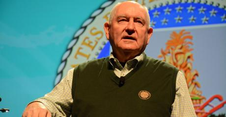 Sonny Perdue speaks at Commodity Classic 2019