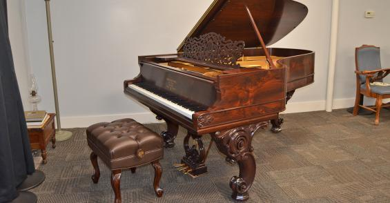 'People's piano' on display at Bates County Museum