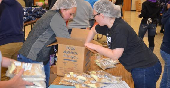 North Montgomery FFA helps feed hungry