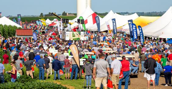 Ag PhD Field Day at Hefty Farms raises bar for field days