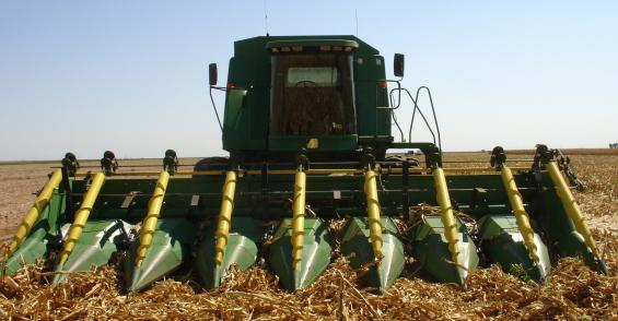 Attachments can help harvest lodged corn