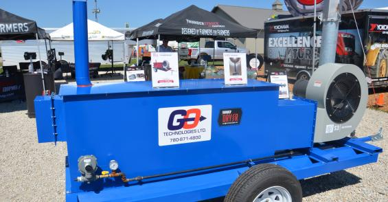 New tools help get grain out of the field, dry grain