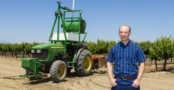 Driverless tractor featured at June 12 field day