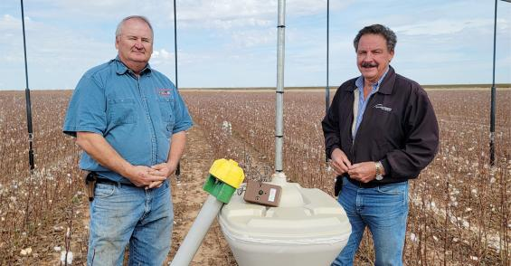 Technology improves irrigation efficiency