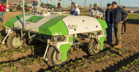 Robotic weed removal options come to market