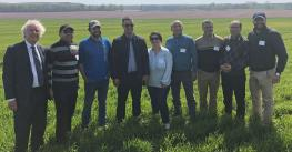 : A group of wheat buyers from Morocco and Tunisia visited the U.S. in mid-April as part of the Cochran Fellowship Program