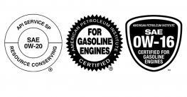 3 engine oil labels
