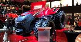 Case IH autonomous concept tractor on display at Germany's Agritechnica farm show