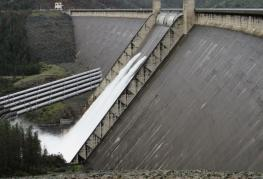 Water released from Shasta Dam