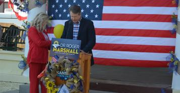 : Rep. Roger Marshall made an announcement of his bid for the Senate seat being vacated by the retirement of Sen. Pat Roberts