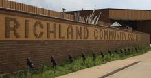 Richland Community College sign