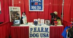 : It is all about service dogs at the PHARM Dog booth at HHD