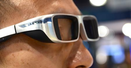Lumus augmented reality glasses