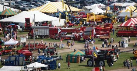 Empire Farm Days is the largest outdoor farm show in the Northeast