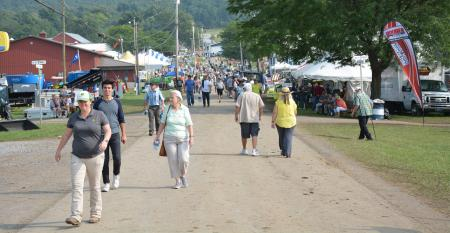 Ag Progress Days is Pennsylvania's largest outdoor agricultural exhibition and one of the largest in the Northeast. This year's show runs Aug. 13-15