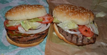 The plant based Impossible Whopper  recently added to menus at several Burger King restaurants.