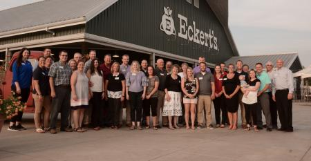 Cultivating Master Farmers group at Eckert's
