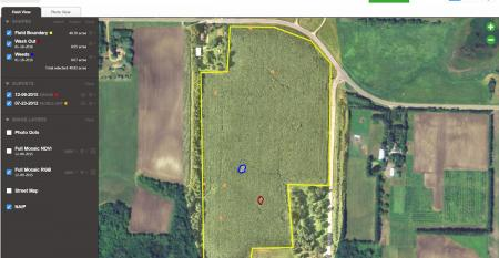 Senterarsquos AgVault software allows growers to use dronecaptured imagery moments upon landing while still in the field AgVault organizes stores and allows users to annotate share and leverage critical crop health data